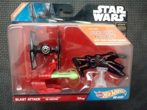 Hotwheels Star Wars - The Force Awakens - Blast Attack Special Forces Tie F