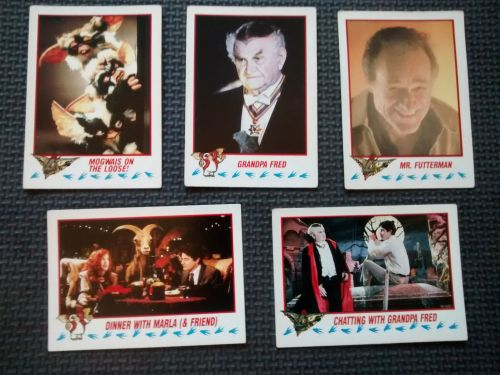 Vintage Collectable Trading Cards - Gremlins 2 The New Batch - Cards 13, 20