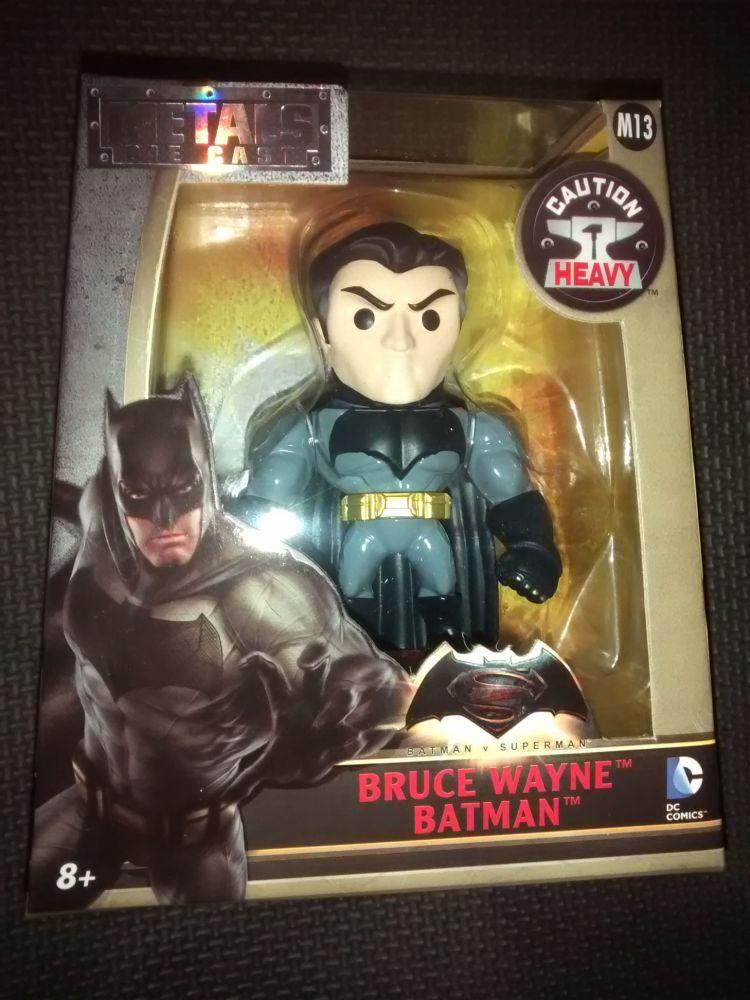 Metals Die Cast Bruce Wayne Batman Display Figure
