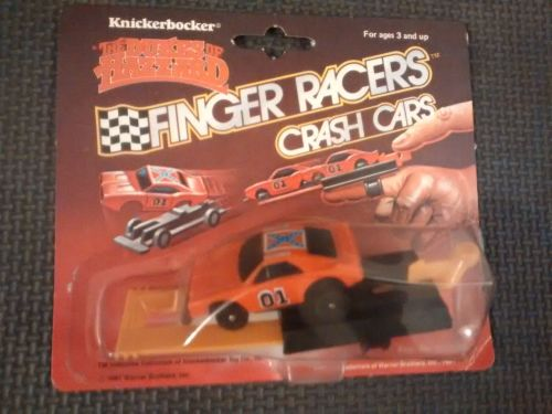 The Dukes Of Hazzard - Finger Racers Crash Cars - General Lee