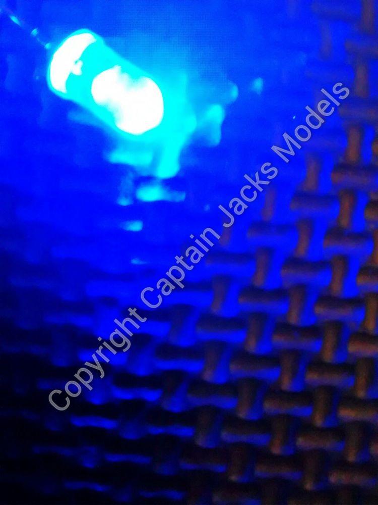 Qty x50  5mm Blue Ultra Bright Led