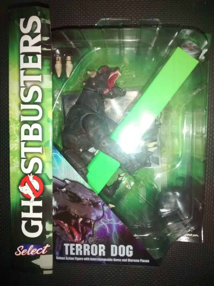Diamond Select Deluxe Figures - Ghostbusters - Terror Dog - Very Minor Box