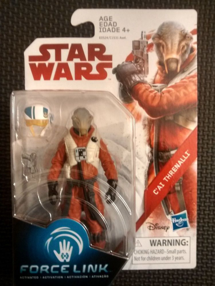 Star Wars C'ai Threnalli Collectable Figure E0524 / C1531 Force Link 3.75