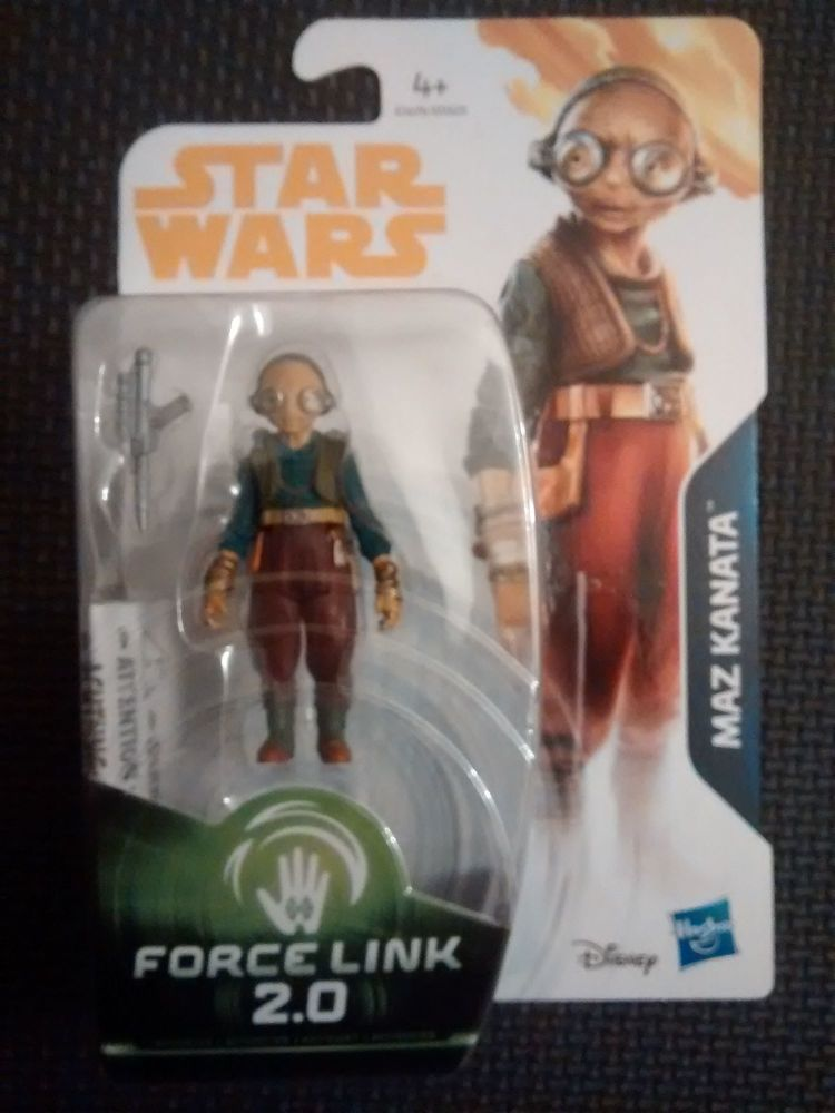 Star Wars Maz Kanata Collectable Figure E1676/E0323 Force Link - 2 Compatib