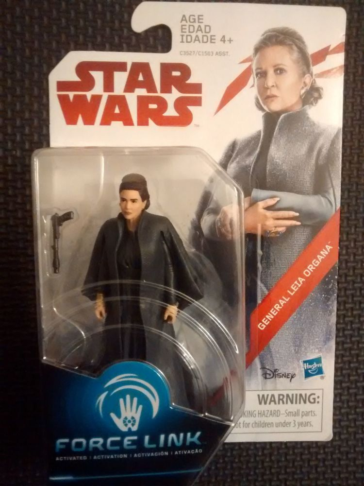 Star Wars General Leia Organa Collectable Figure C3527/C1503 Force Link Com