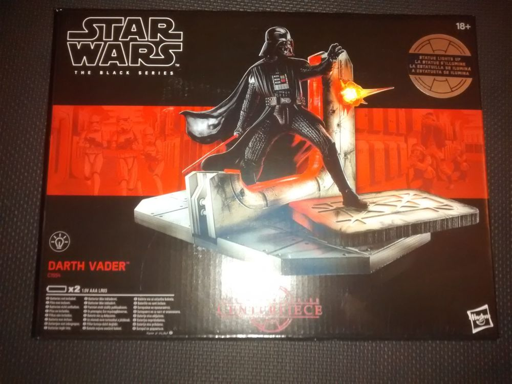 Star Wars The Black Series Darth Vader Centrepiece C1554 Illuminated Displa