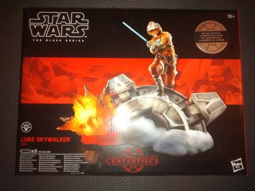 Star Wars The Black Series Luke Skywalker Centrepiece C1555 Illuminated Dis