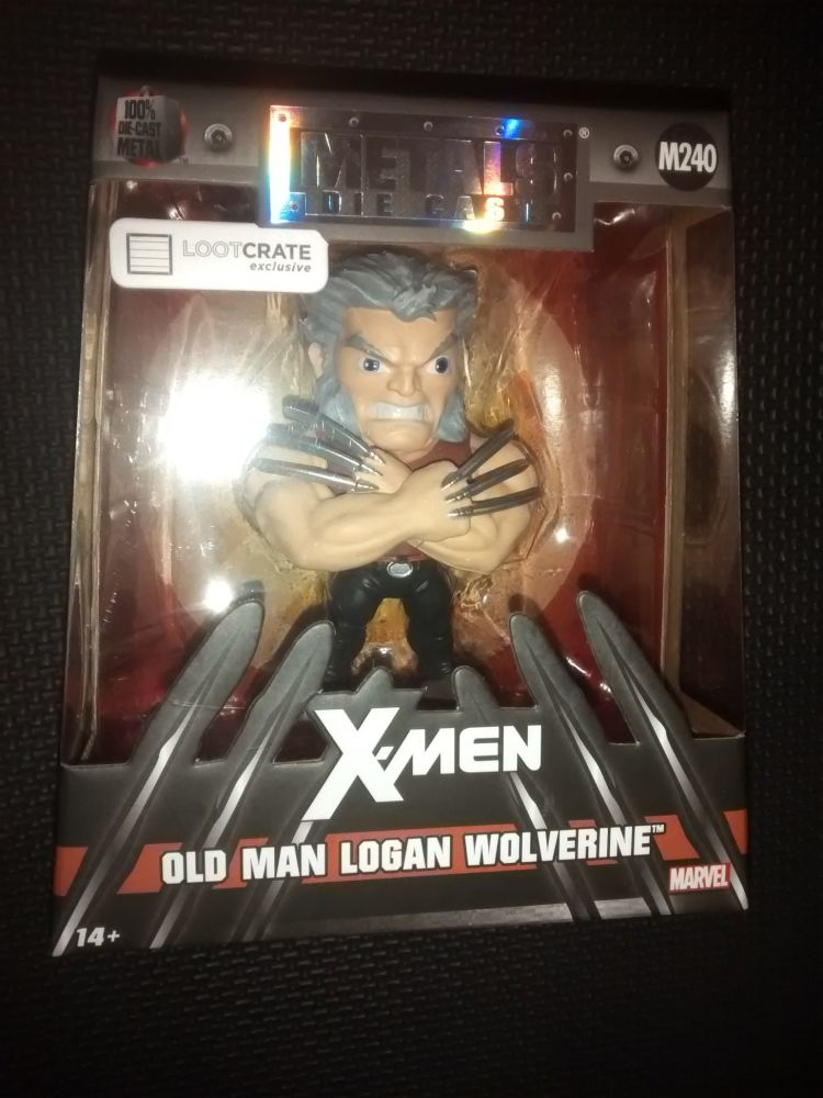 Metals Die Cast Marvel X-Men Old Man Logan Wolverine Display Figure M240
