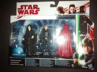 """Star Wars Force Link Compatible 3.75"""" Figure Set - Emperor Palpatine - Luke Skywalker - Emperors Royal Guard"""
