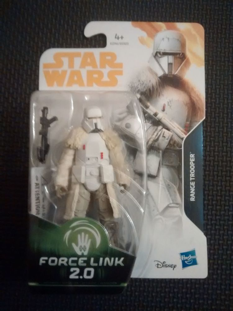 Star Wars Range Trooper Collectable Figure E2761/E0323 Force Link - 2 Compa
