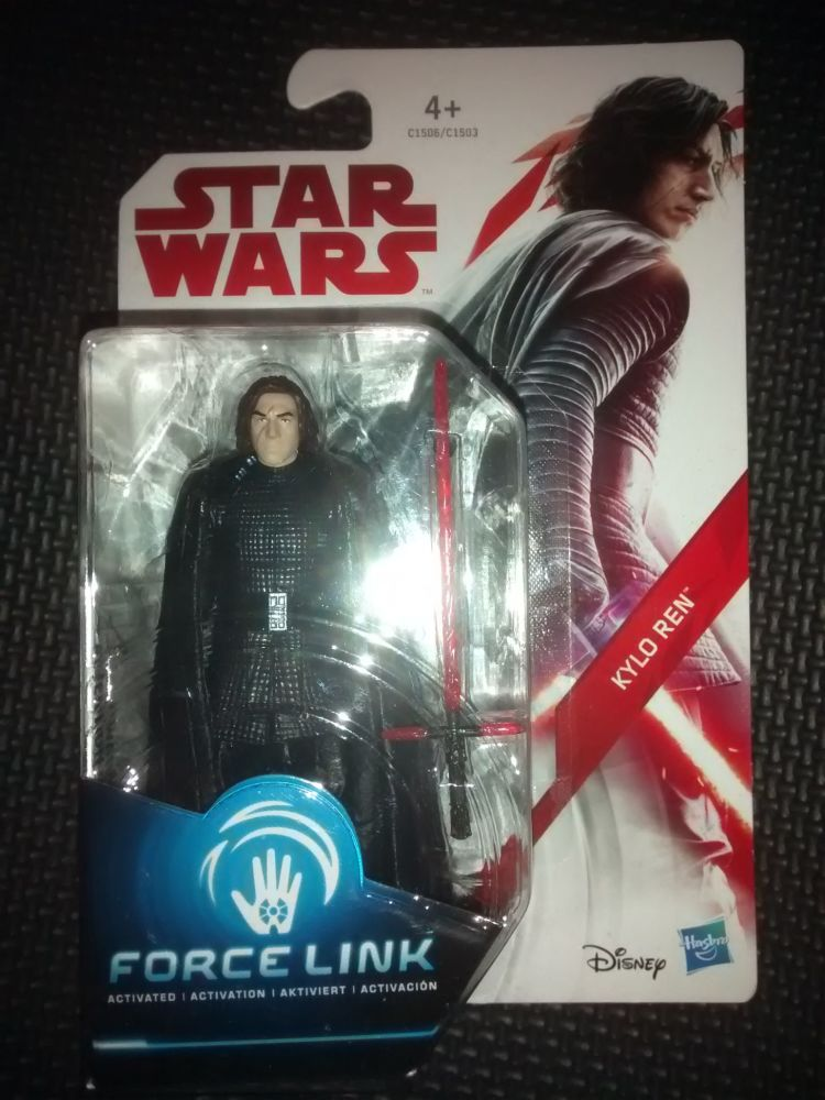 Star Wars Kylo Ren Collectable Figure C1506/C1503 Force Link Compatible 3.7