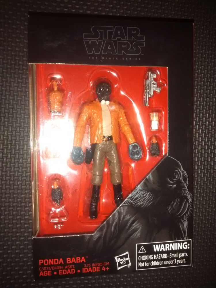 Star Wars - The Black Series - Ponda Baba - Collectable Figure 3.75