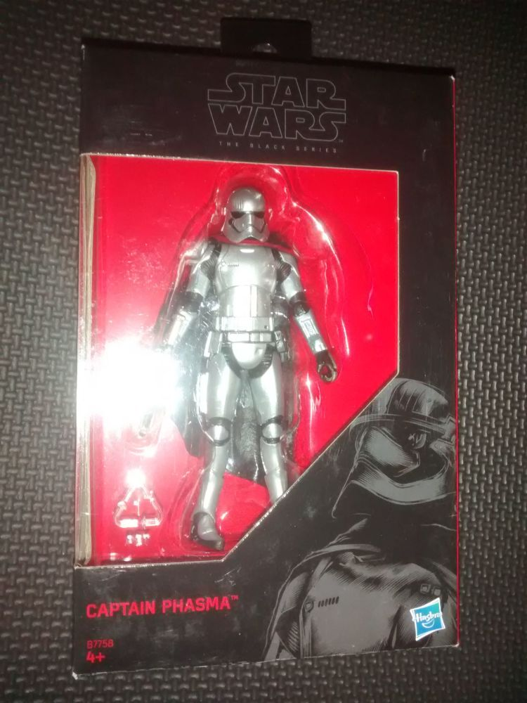 Star Wars - The Black Series - Captain Phasma - Collectable Figure 3.75
