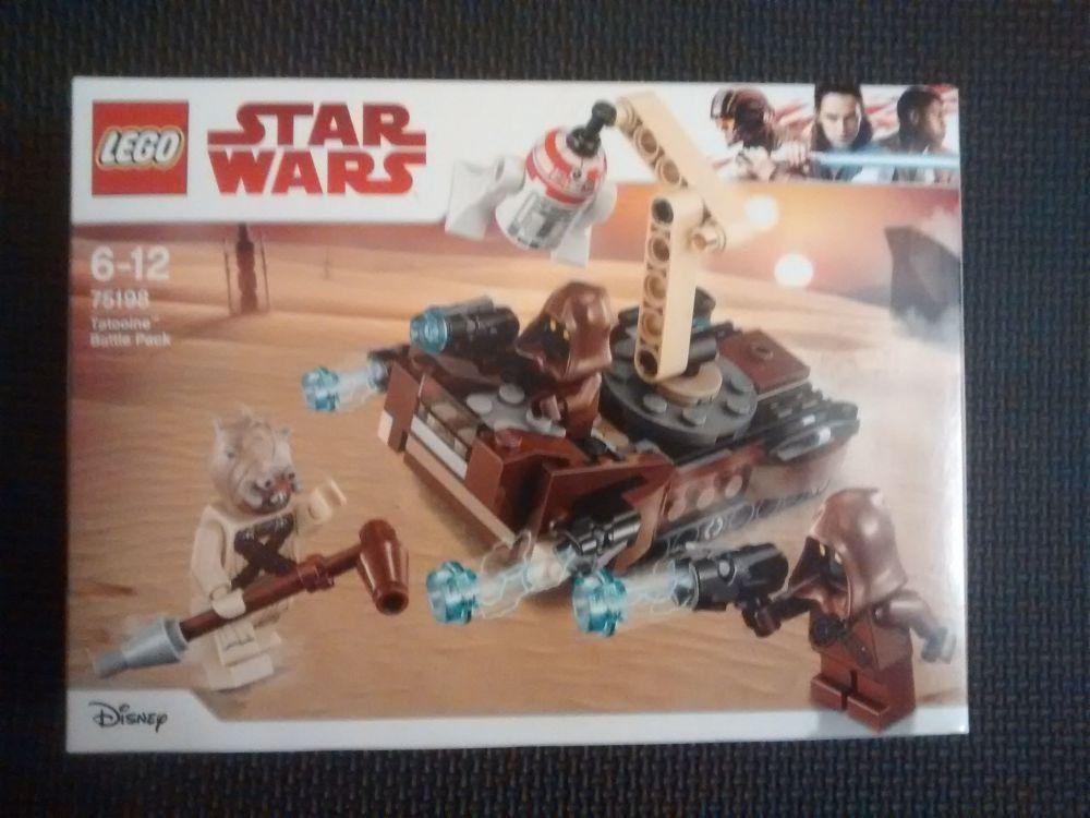 Lego Star Wars - Tatooine Battle Pack - 75198 - Age Range 6 to 12 - Brand N