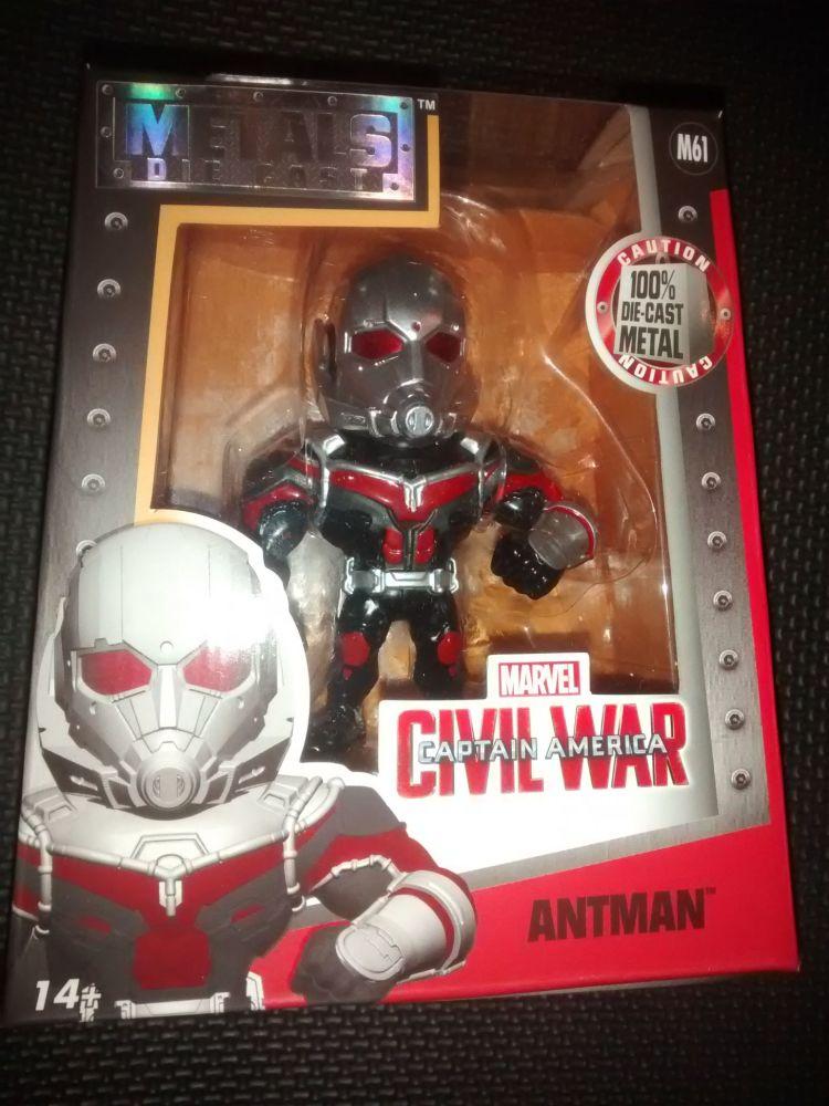 Metals Die Cast - Marvel - Civil War - Antman Display Figure M61