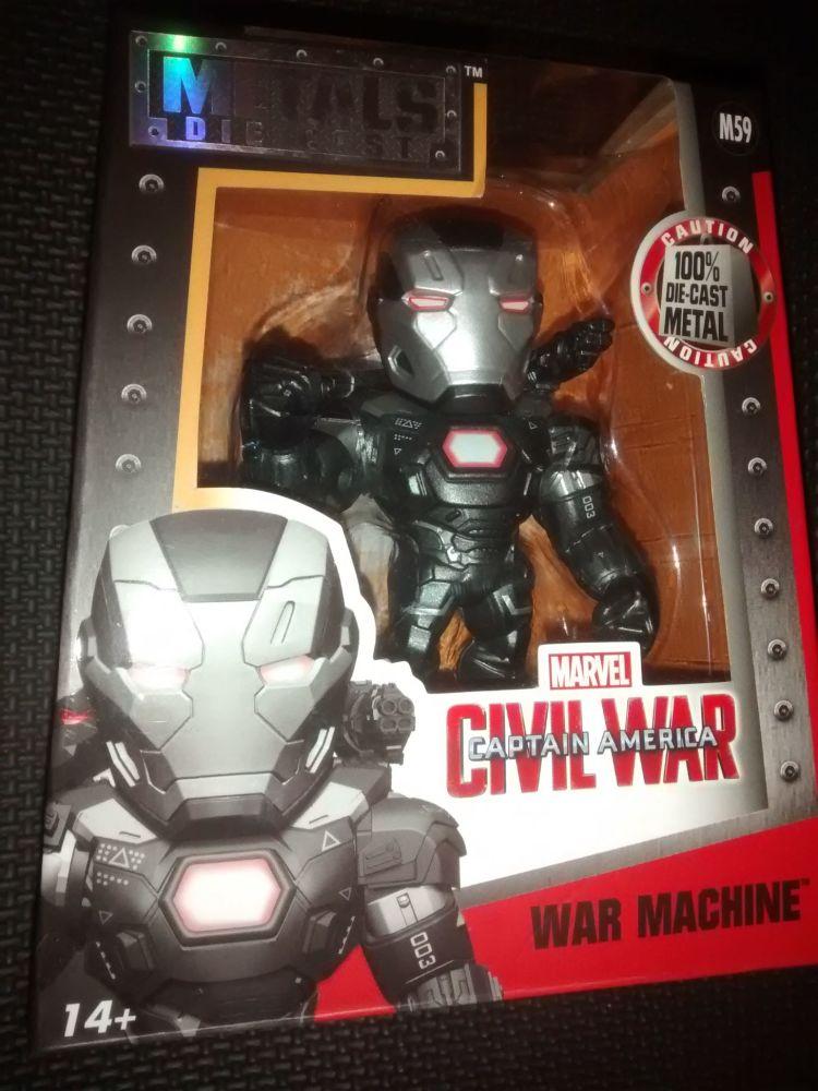 Metals Die Cast - Marvel - Civil War - War Machine Figure M59