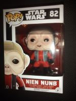 Pop Star Wars - Nien Nunb Vinyl Figure - Issue 82