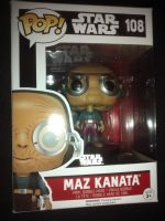 Pop Star Wars - Maz Kanata Vinyl Figure - Issue 108