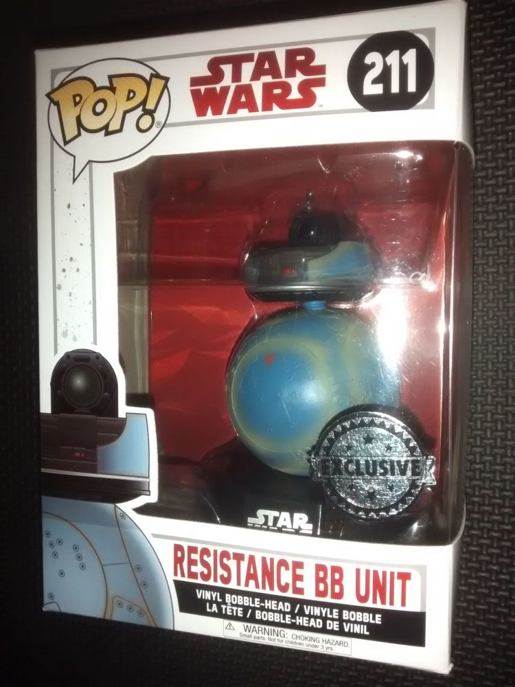 Pop Star Wars - Resistance BB Unit - EXCLUSIVE - Vinyl Figure - Issue 211