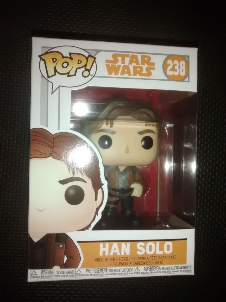 Pop Star Wars - Han Solo Vinyl Figure - Issue 238