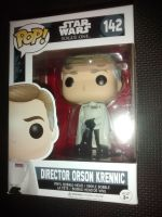 Pop Star Wars - Rogue One - Director Orson Krennic Vinyl Figure - Issue 142