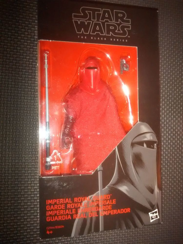 Star Wars - The Black Series - Imperial Royal Guard - Collectable Figure 6