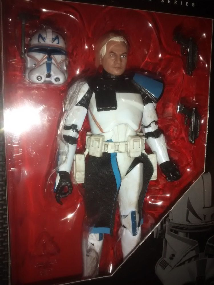 Star Wars - The Black Series - Clone Captain Rex - Collectable Figure 6