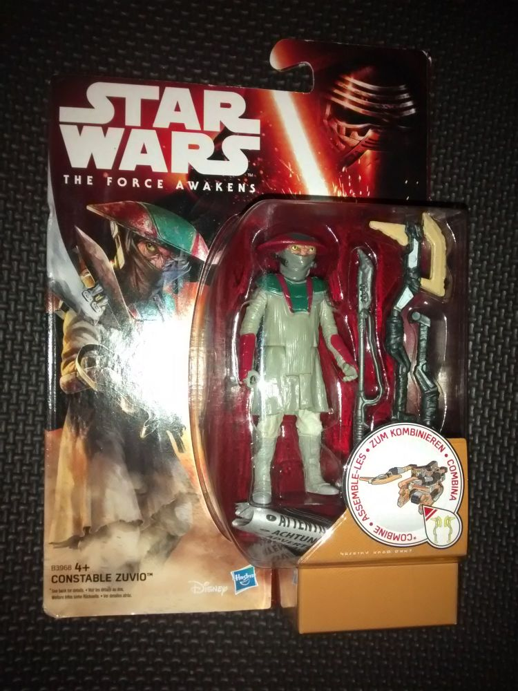Star Wars The Force Awakens Constable Zuvio Collectable Figure 3.75