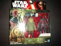 """Star Wars The Force Awakens Sidon Ithano & First Mate Quiggold Collectable Figures 3.75"""" Tall"""