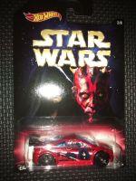 Star Wars Hotwheels Diecast Car - Darth Sidious & Darth Maul Asphalt Assault
