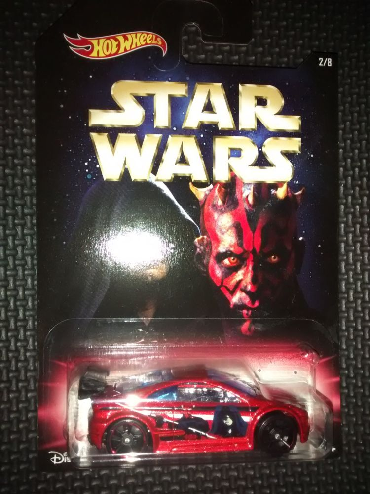 Star Wars The Force Awakens Hotwheels Diecast Car - Darth Sidious & Darth M