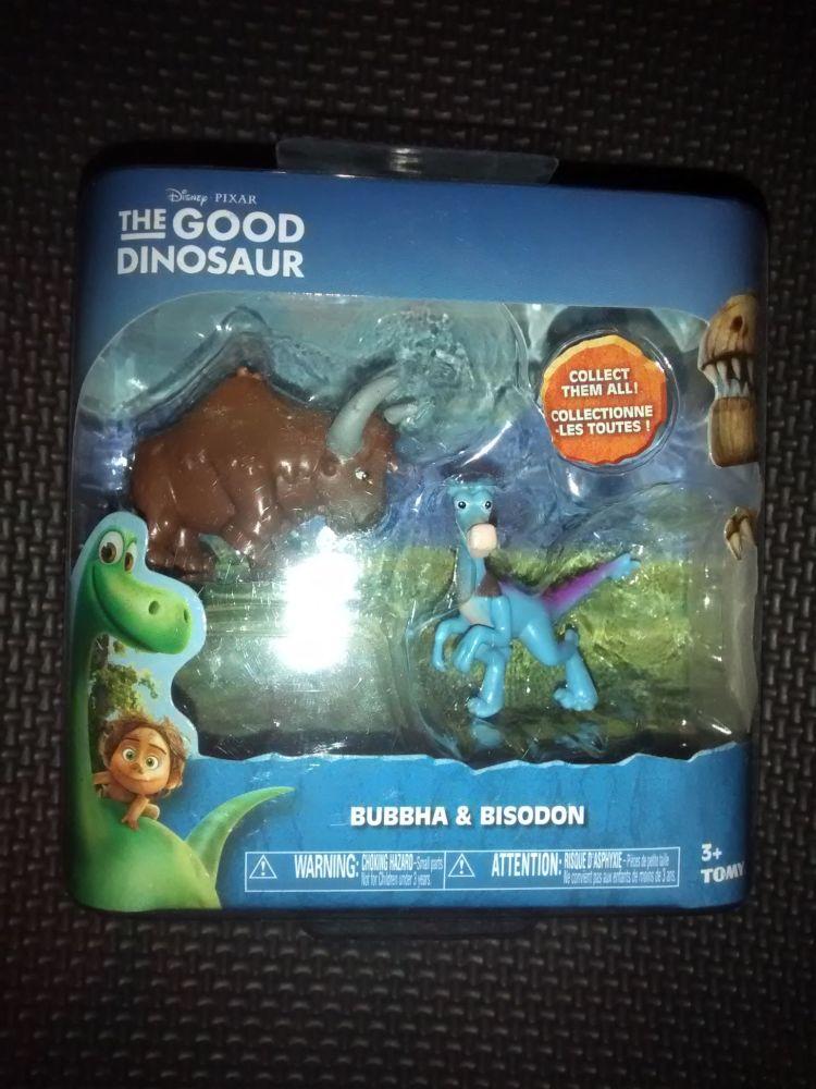 Disney Pixar - The Good Dinosaur - Collectable Figures - Bubbha & Bisodon