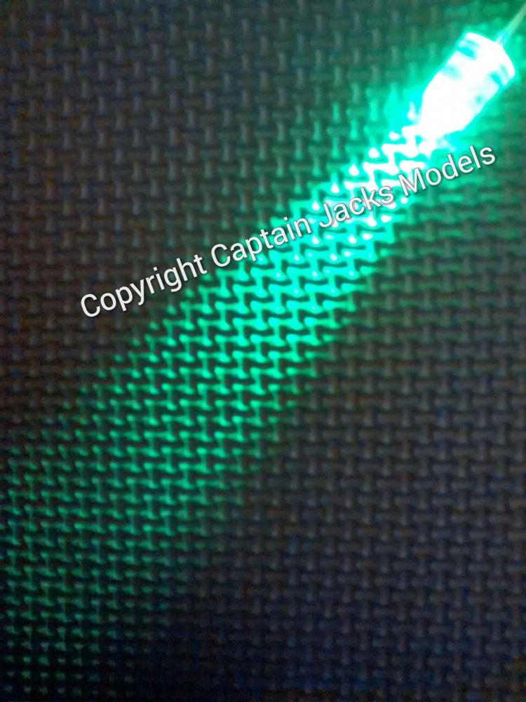 Qty x10  10mm Green Ultra Bright Led