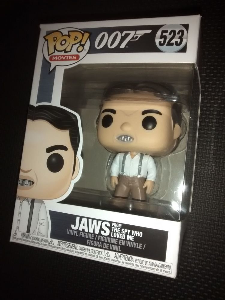 Pop Movies - 007 The Spy Who Loved Me - Jaws Vinyl Figure - Issue 523
