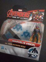 "Hasbro - Avengers - 2.5"" Action Figure Set - Marvels Vision vs Sub-Ultron 011"