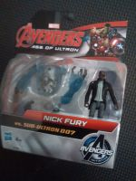 "Hasbro - Avengers - 2.5"" Action Figure Set - Nick Fury vs Sub-Ultron 007"