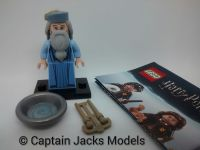 Lego Minifigs - Harry Potter Fantastic Beasts Series - Albus Dumbledore Figure