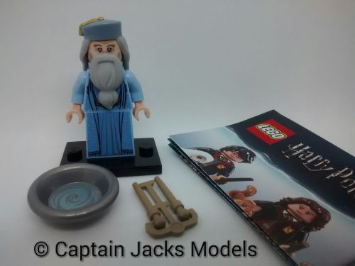 Lego Minifigs - Harry Potter Fantastic Beasts Series - Albus Dumbledore Fig