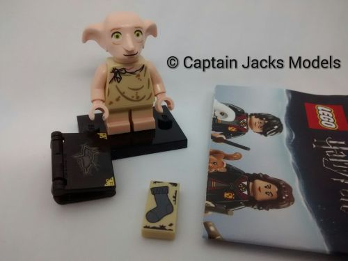 Lego Minifigs - Harry Potter Fantastic Beasts Series - Dobby Figure