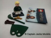 Lego Minifigs - Harry Potter Fantastic Beasts Series - Draco Malfoy Figure