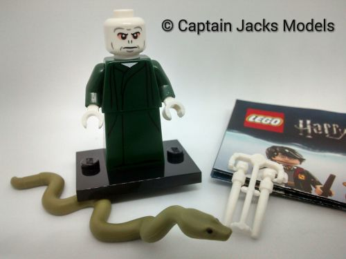 Lego Minifigs - Harry Potter Fantastic Beasts Series - Lord Voldemort Figur