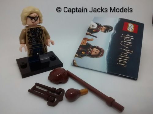 Lego Minifigs - Harry Potter Fantastic Beasts Series - Mad Eye Moody Figure
