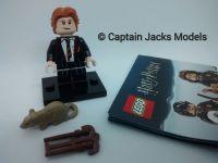 Lego Minifigs - Harry Potter Fantastic Beasts Series - Ron Weasley In School Robes Figure