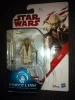 """Star Wars Yoda Collectable Figure C3465/C1531 Force Link Compatible 3.75"""" Scale Size"""
