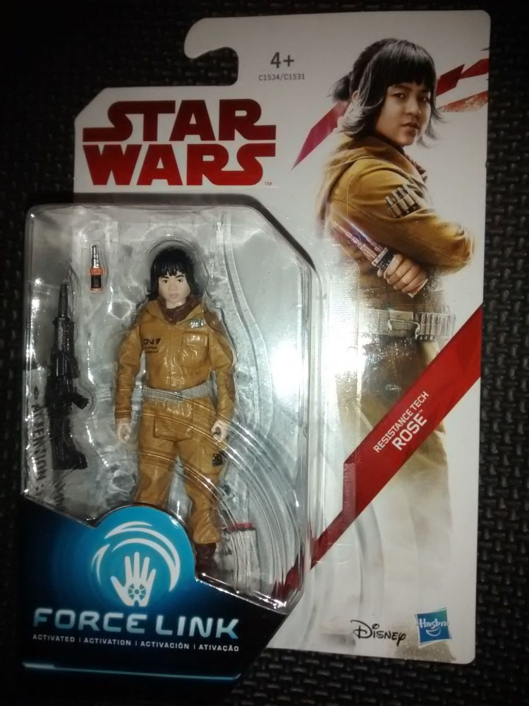 Star Wars Resistance Tech Rose Collectable Figure C1534/C1531 Force Link Co