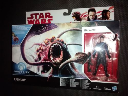 Star Wars Rathtar & Bala-Tik Collectable Figure Set C1247/C1245 Force Link