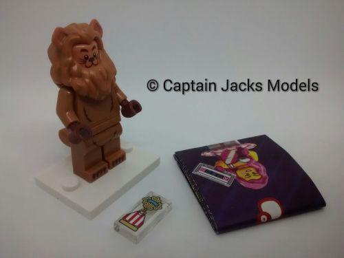 Lego Minifigs - Lego Movie 2 - Wizard Of Oz Series 71023 - The Cowardly Lio