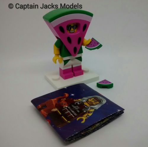 Lego Minifigs - Lego Movie 2 - Wizard Of Oz Series 71023 - Watermelon Dude
