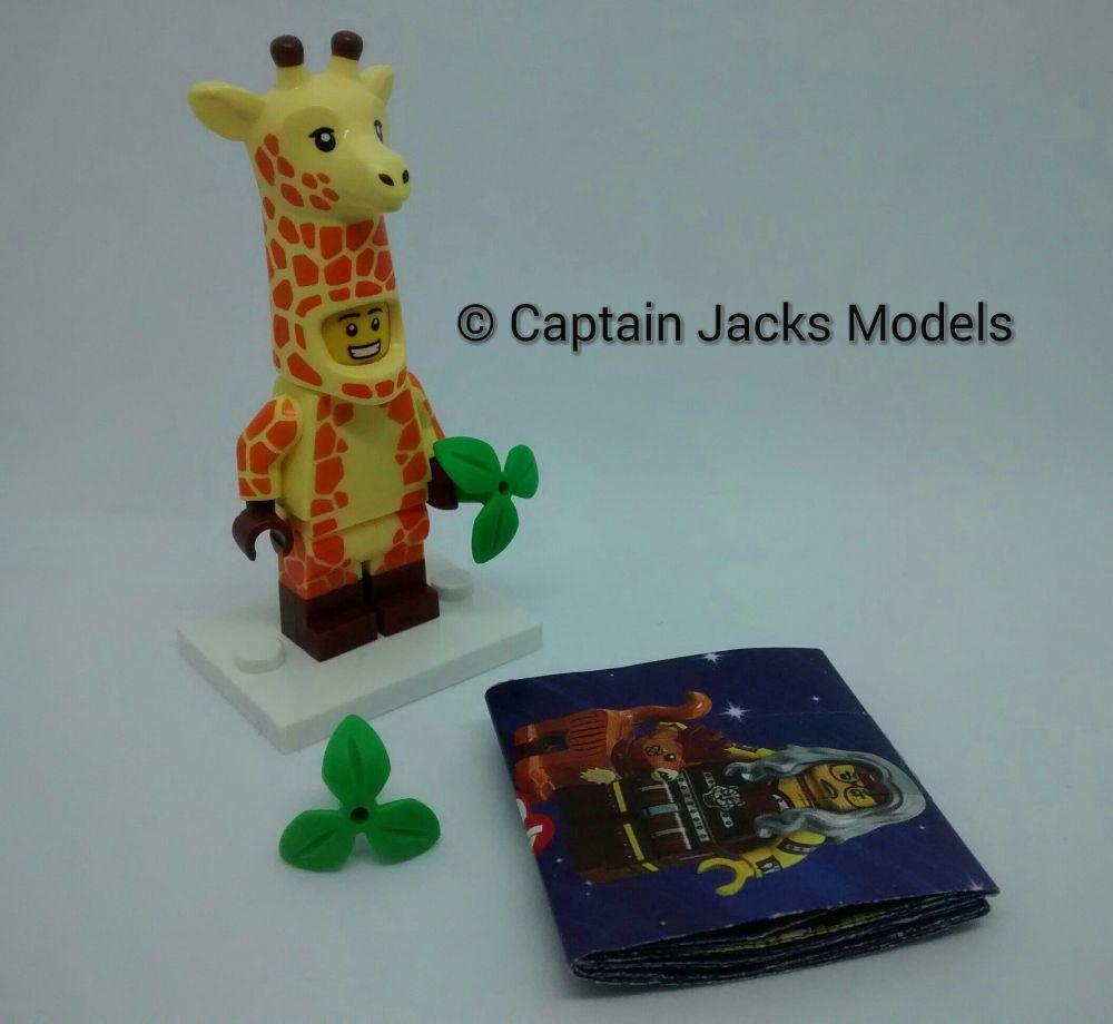Lego Minifigs - Lego Movie 2 - Wizard Of Oz Series 71023 - Giraffe Suit Guy