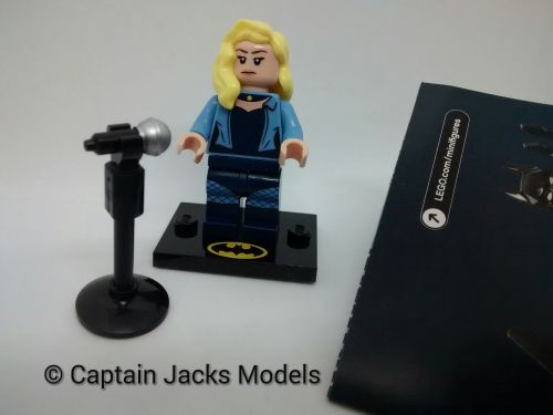 Lego Minifigs - Lego Batman Movie - Series 2 - 71020 - Black Canary